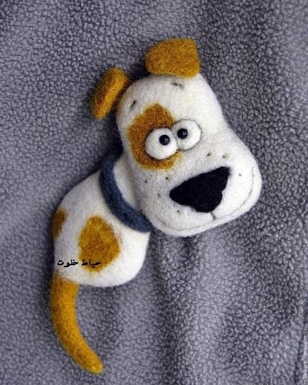 گیفت سگ نمدی, عروسک سگ نمدی