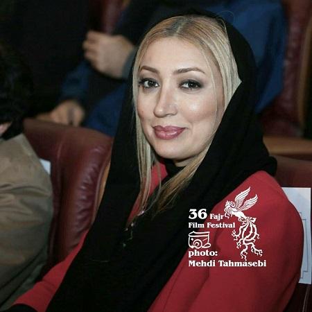 عکس نگار عابدی در مراسم اختتامیه جشنواره فیلم فجر