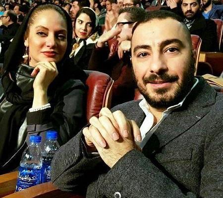 عکس نوید محمدزاده و مهناز افشار در اختتامیه جشنواره فیلم فجر