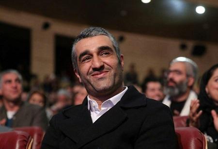 پژمان جمشیدی در اختتامیه جشنواره فیلم فجر
