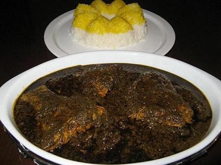 طرز تهیه قلیه ماهی با رب انار+مواد لازم