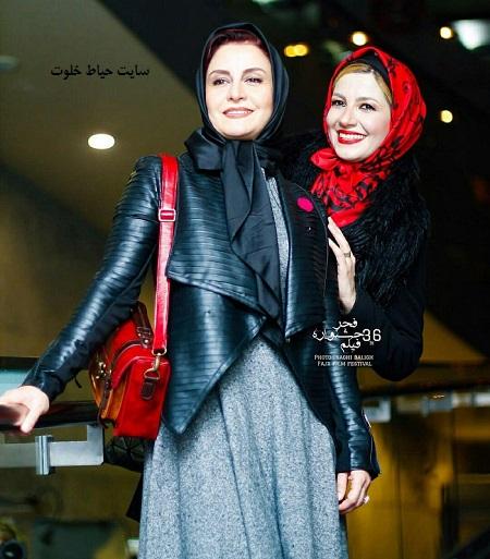 عکس ملیکا و مریلا زارعی در جشنواره فیلم فجر