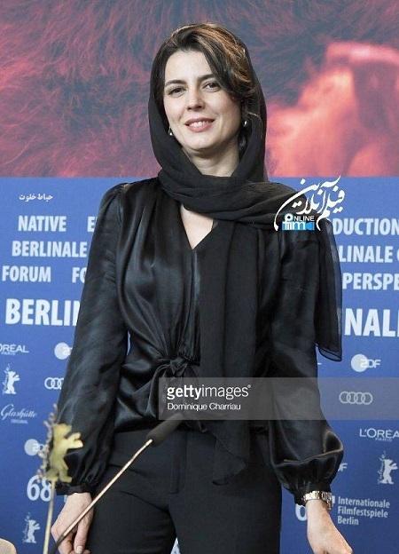 لیلا حاتمی در جشنواره بینالمللی فیلم برلین