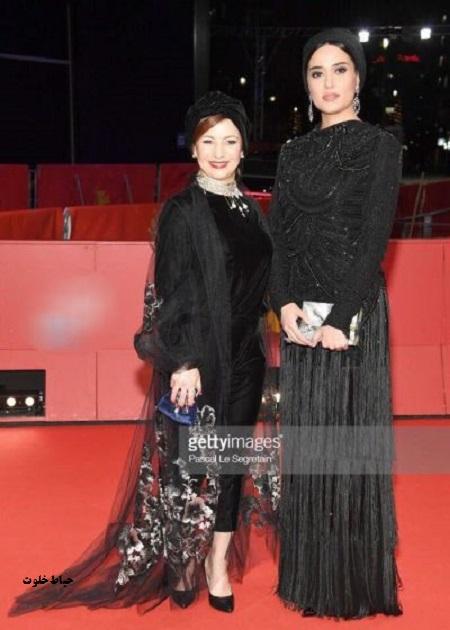 پریناز ایزدیار در جشنواره بینالمللی فیلم برلین