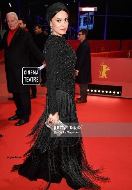 مدل لباس پریناز ایزدیار در جشنواره فیلم برلین