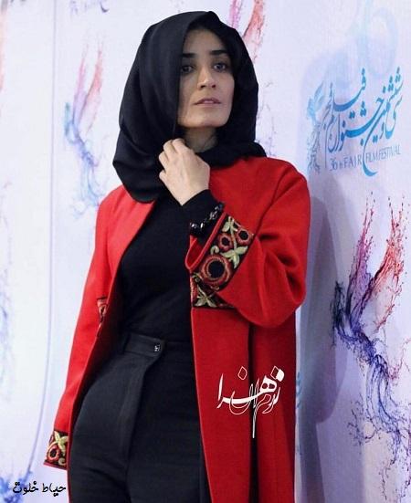 مژگان صابری در جشنواره فجر