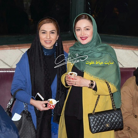 عکس/ شیلا خداداد و تینا پاکروان در جشنواره فیلم فجر
