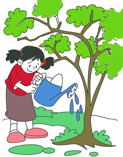 شعر کودکانه درباره درخت و درختکاری