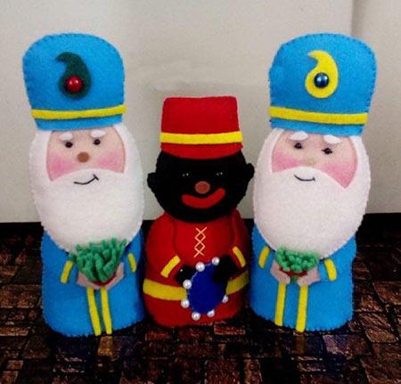 ساخت عروسک عمو نوروز با نمد