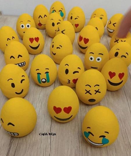 تزیین تخم مرغ عید فانتزی