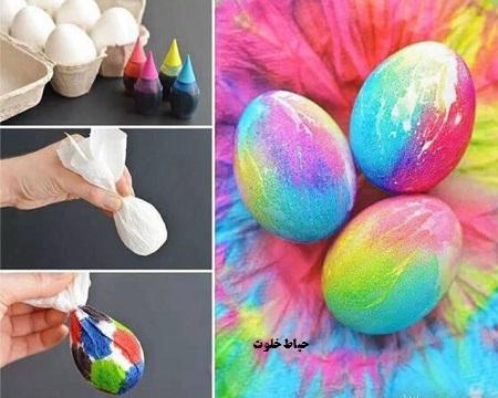 تزیین تخم مرغ هفت سین 97