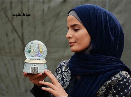 عکس های غزاله اکرمی بازیگر سریال هست و نیست