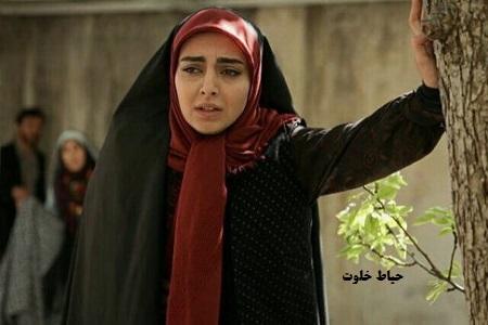 مهشید جوادی بازیگر جوانی مارال در سریال آنام