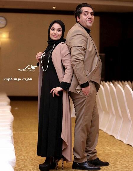 عکسهای مانی رهنما و همسرش صبا راد