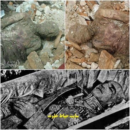 کشف جسد مومیایی شده رضا شاه پهلوی در حرم عبدالعظیم!+عکس