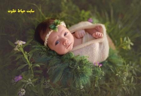 عکس نوزاد آتلیه ای