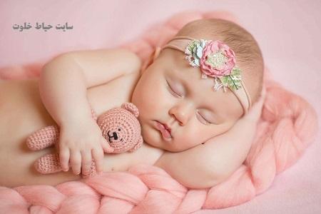ایده عکاسی از نوزاد در خانه