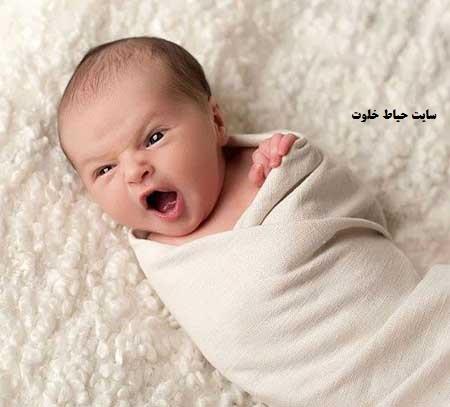 ایده عکس خانگی نوزاد