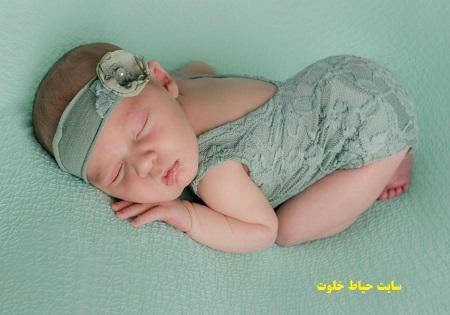 عکس گرفتن از نوزاد خوابیده