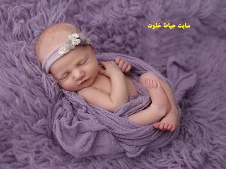 مدل های زیبا ژست عکس نوزاد دختر