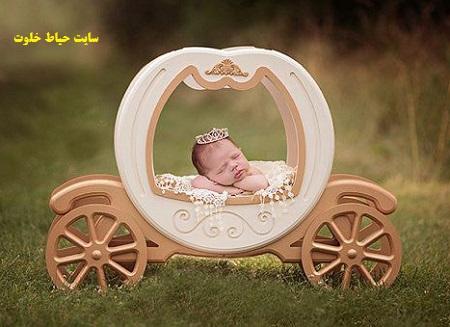 عکاسی خلاقانه از نوزاد