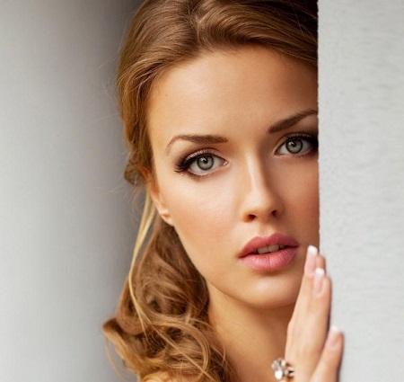 عکس دختر چشم رنگی ، دختر جذاب برای پروفایل خاص