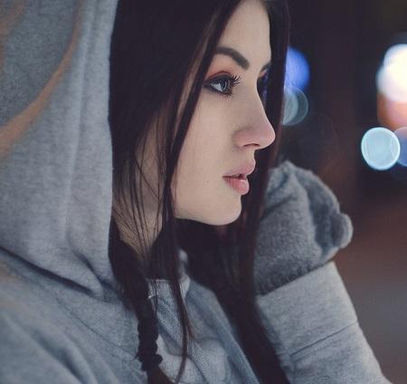 عکس دختر خوشگل برای پروفایل ، نیم رخ دختر زیبا