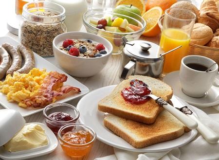 رستورانهای دارای صبحانه در تهران