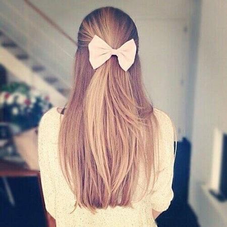 عکس مو دختر از پشت برای پروفایل