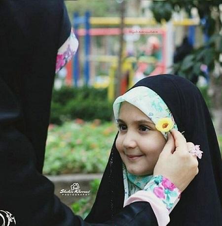 عکس دختر با حجاب برای پروفایل ، پروفایل دختر بچه با حجاب