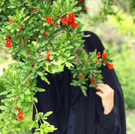 عکس چادری برای پروفایل ، عکس حجاب با چادر
