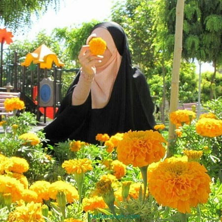 عکس نوشته محجبه دخترونه ، عکس مذهبی دخترانه