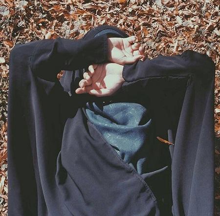 عکس پروفایل درباره حجاب ، من حجاب را دوست دارم