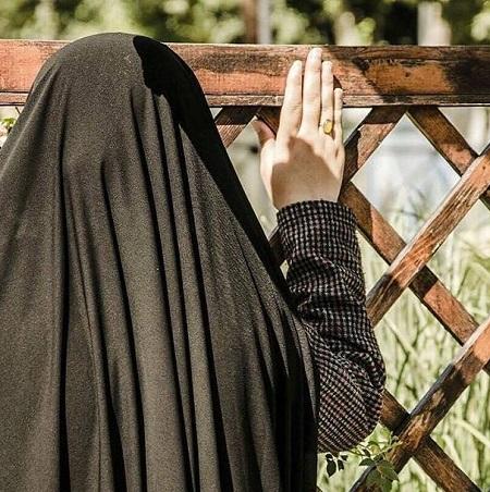 عکس پروفایل دختر چادری و با حجاب ، #چادری_ام #حجاب
