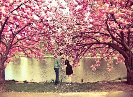 پروفایل عاشقانه، عکس بوسه عاشقانه برای پروفایل