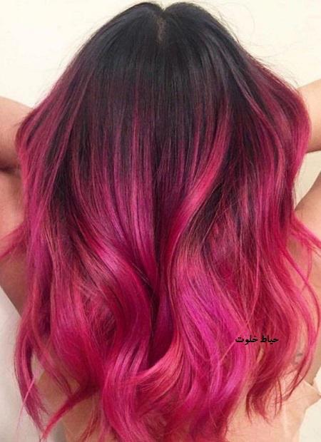 فرمول ترکیب رنگ مو جدید