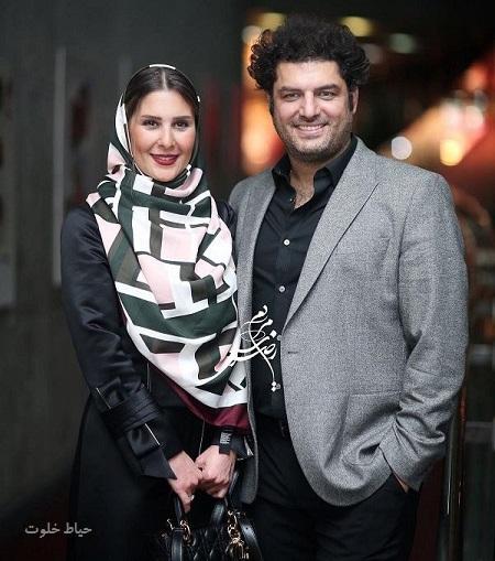 عکس جدید سام درخشانی و همسرش