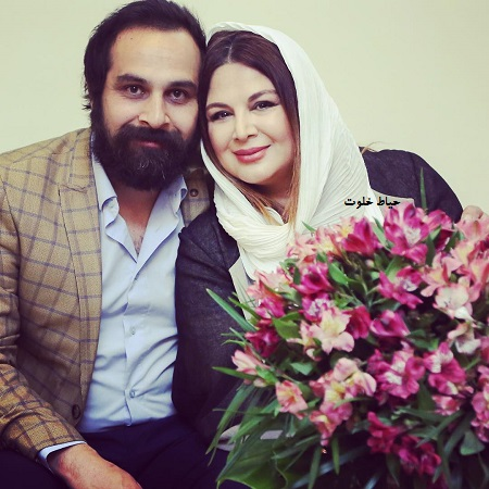 شهره سلطانی و همسرش