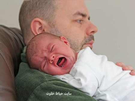 افسردگی پدران بعد از تولد نوزاد + علت و راه درمان