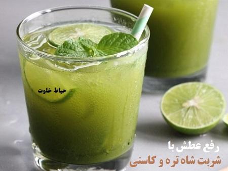 یک شربت فوق العاده برای رفع عطش در ماه رمضان