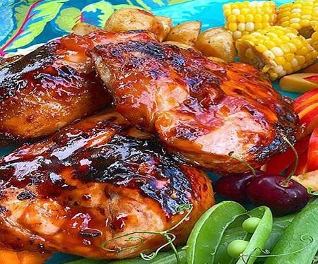 مواد لازم و طرز تهیه مرغ بریان در خانه