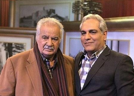 گفتگوی سانسور شده مهران مدیری و ناصر ملک مطیعی در برنامه دورهمی