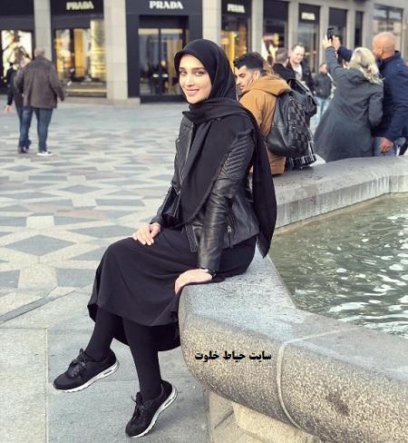 عکس های آناشید حسینی طراح لباس + عکس همسرش