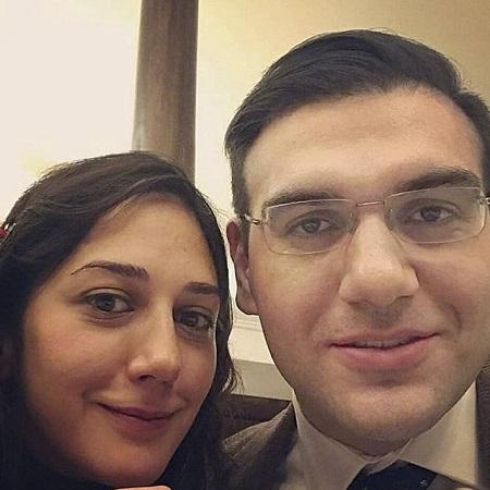 عکس زهرا امیر ابراهیمی و همسرش