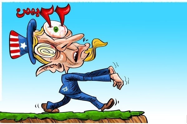 کاریکاتور جالب 22 بهمن
