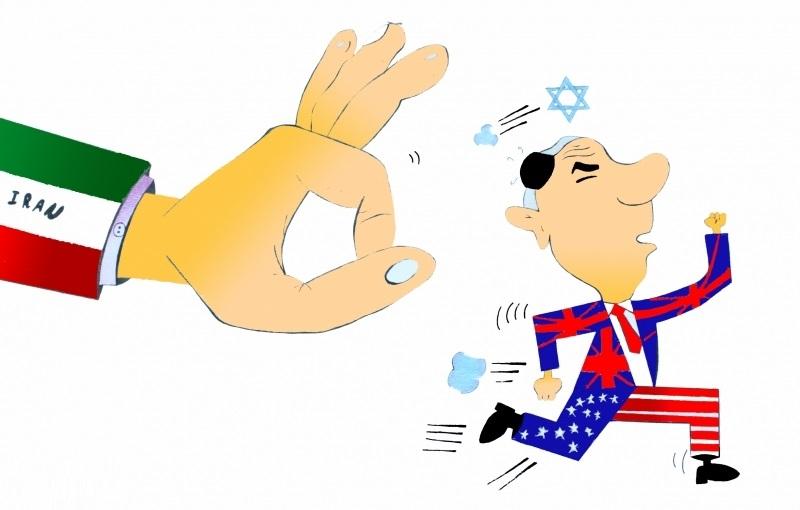 کاریکاتور زیبا پیروزی انقلاب