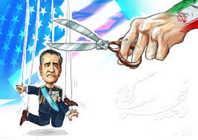 کاریکاتور جالب محمدرضا شاه