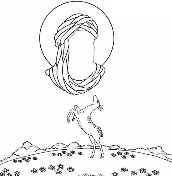 عکس طراحی نقاشی کودکانه