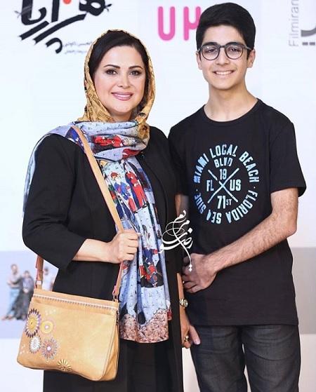 عکس جدید کمند امیرسلیمانی و پسرش