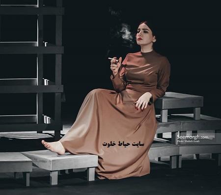 عکس سیگار کشیدن متین ستوده